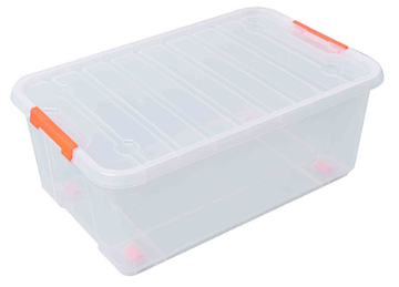 TACTIX 35L CLEAR CONTAINER BOX (MER320280)