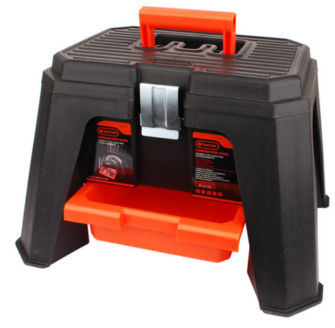 TACTIX STORAGE STEP STOOL (MER320352)