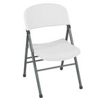COSCO COMMERCIAL MOLDED RESIN FOLDING CHAIR (COS14867WAP4S)