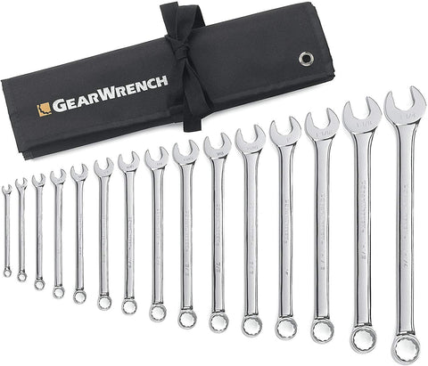 GEARWRENCH 15PC COMBINATION WRENCH SET NON-RATCHET (GW81918)