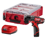 "MILWAUKEE M12™ 3/8"" Hammer Drill/Driver Kit WITH PACKOUT™ (M2408-21PO)"