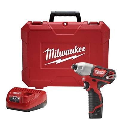 "MILWAUKEE M12™ ¼"" HEX IMPACT DRIVER KIT (M2462-22)"