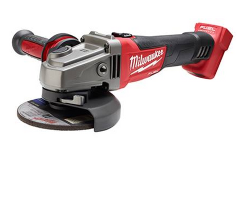 "MILWAUKEE M18 FUEL 4-1/2""/5"" GRINDER, SLIDE SWITCH LOCK-ON, TOOL ONLY (M2781-20)"