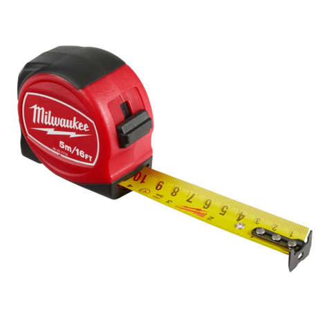 MILWAUKEE 5M 16 X 25MM TAPE MEASURE (M48-22-7718)