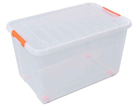 TACTIX 52L CLEAR CONTAINER BOX (MER320282)