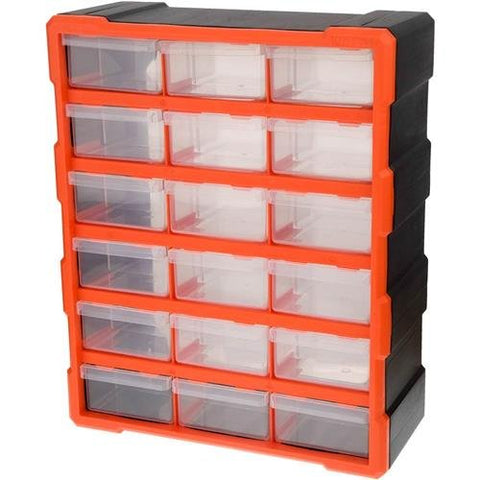 TACTIX 18 DRAWER STORAGE BIN SET (MER320634)