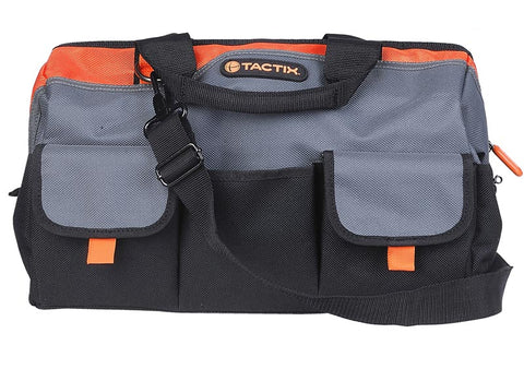 "TACTIX 16"" GATE MOUTH TOOL BAG (MER323143)"