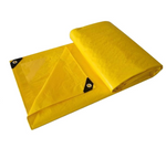 PERIDOT PVC COATED TARPAULIN YELLOW 30' X 40' (MT30X40PVC)