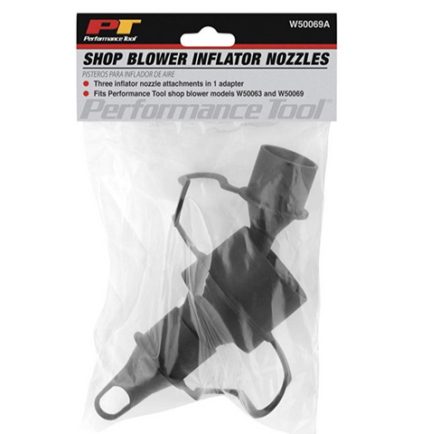 PERFORMANCE TOOL SHOP BLOWER INFLATOR NOZZELS (PTW50069A)