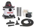 SHOP-VAC 8 GALLON 4.0 PEAK HP STAINLESS VACUUM (SV597-71-36)