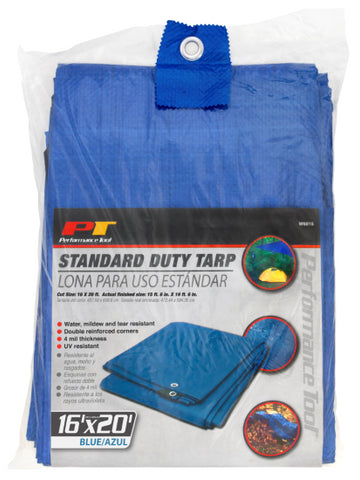 PERFORMANCE TOOL TARP (16 X 20) (PTW6015)