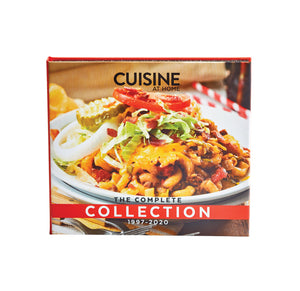 Cuisine at Home Back Issue Library 2020 USB Drive