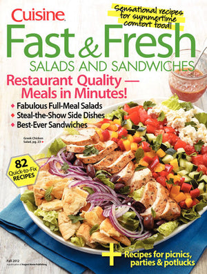 Fast & Fresh Salads and Sandwiches