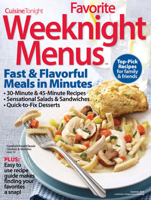 Favorite Weeknight Menus