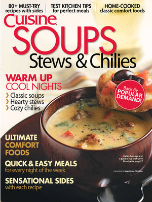 Soups, Stews, & Chilies