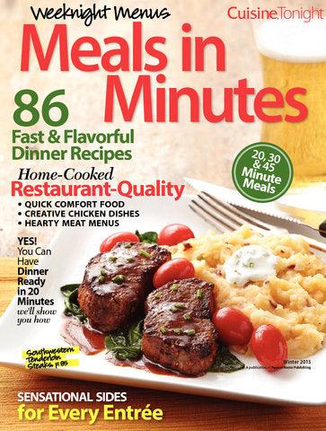 Weeknight Menus Meals in Minutes