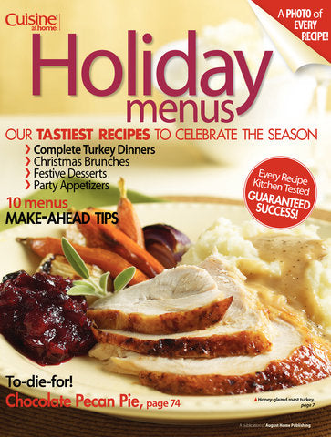 Holiday Menus, Volume 2