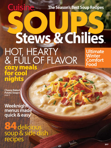 Soups, Stews & Chilies