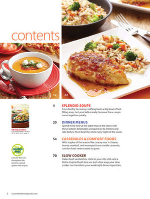 Cuisine Weeknight Menus, Volume 4