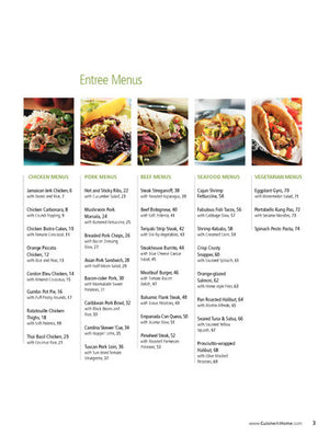 Weeknight Menus