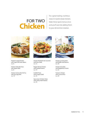Cuisine For Two: Simple, Healthy & Delicious