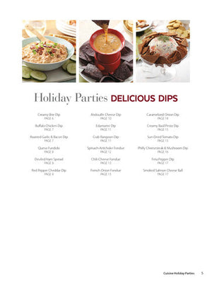 Cuisine Holiday Parties