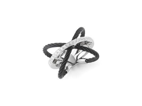 Noir Cable Ring
