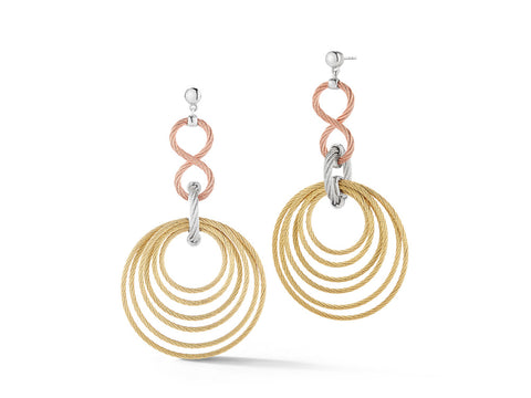 Classique Tri-Color Earrings