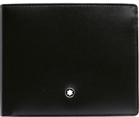 Meisterstück Wallet for 6 Credit Cards with Money Clip