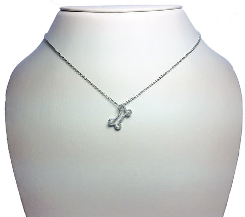 Necklaces tagged diamond jaes jewelers dog bone diamond pendant necklace aloadofball Gallery