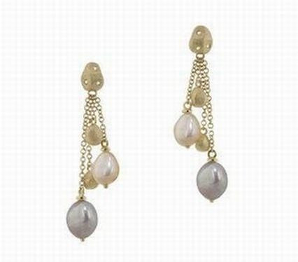 Pastel Pearl Offset Dangles