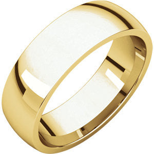 Men's 6mm Yellow Gold Band