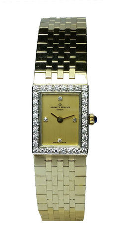 Ladies Gold Baume & Mercier