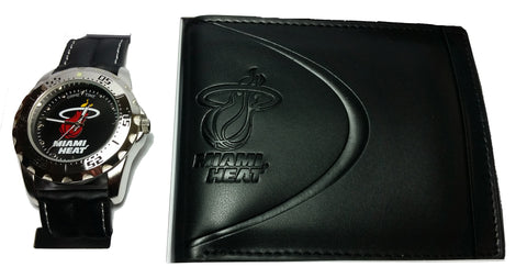 Miami Heat Watch & Wallet Set