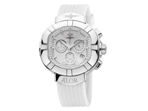 Elite Sub White Chronograph 45mm