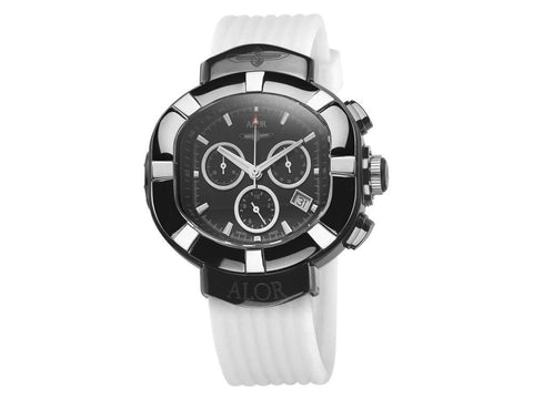 Elite Sub Black & White Chronograph 45mm