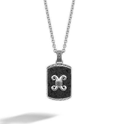 Dayak Dog Tag Necklace