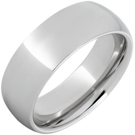 Men's 8mm Satin Titanium Band