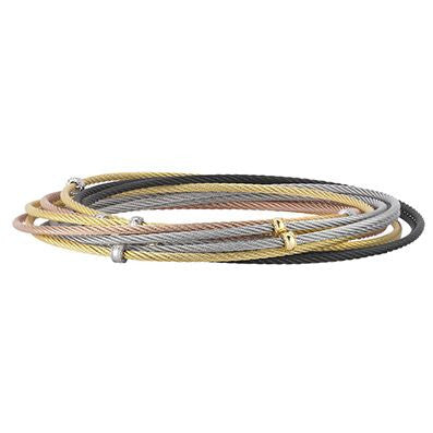 Classique 10-Row Multi-Color Bangle