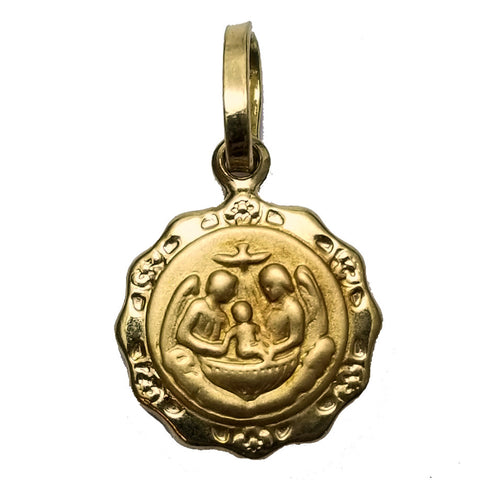 Small Baptism Medal