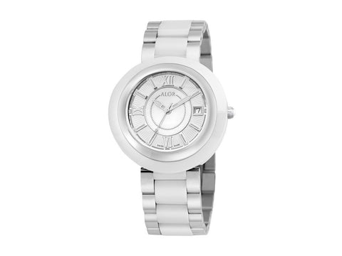 Cavo White Ceramic & Steel 37mm