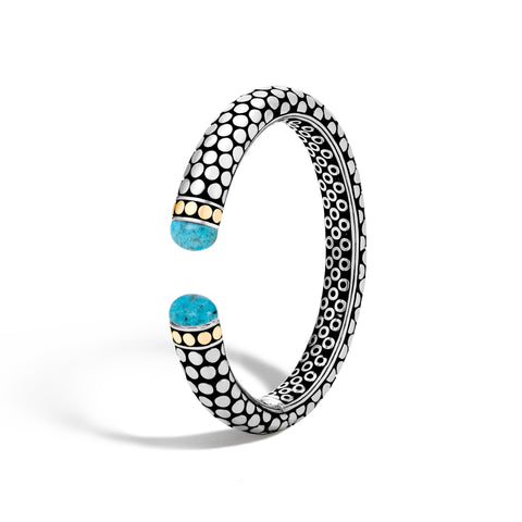Kick Cuff with Turquoise