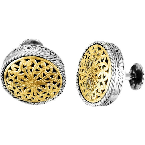 Konstantino Two-Tone Cufflinks