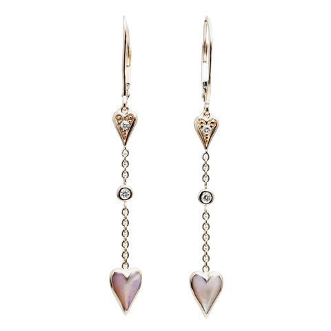 Kabana Heart Earrings