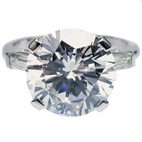 4.71ct Round Brilliant Cut Diamond Ring