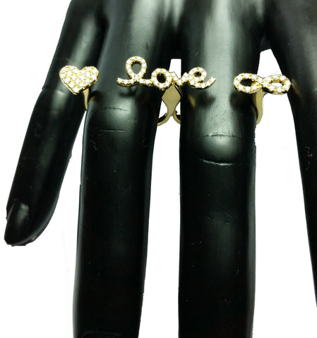 Two-Finger Love Ring