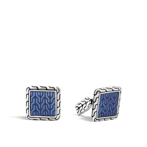 Men's Classic Chain Square Cufflinks