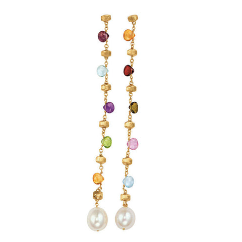 Marco Bicego Paradise Pearl Long Earrings