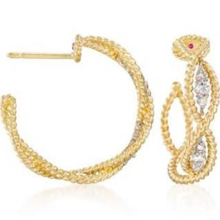 Barocco Diamond Earring