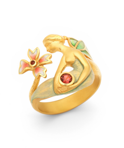 Fairy Enamel Ring